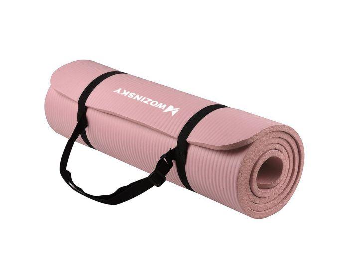 Wozinsky Non Slip Exercise Mat (WNSP-LPIN) Χαλί Γυμναστικής Light Pink