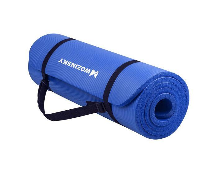Wozinsky Non Slip Exercise Mat (WNSP-BLUE) Χαλί Γυμναστικής Blue