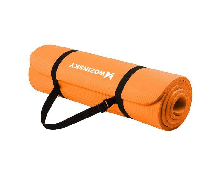 Wozinsky Non Slip Exercise Mat (WNSP-ORAN) Χαλί Γυμναστικής Orange