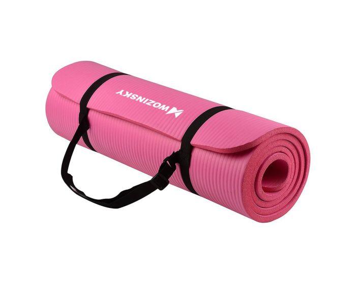 Wozinsky Non Slip Exercise Mat (WNSP-PINK) Χαλί Γυμναστικής Pink