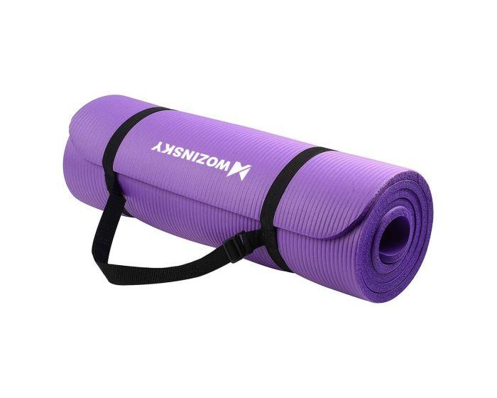 Wozinsky Non Slip Exercise Mat (WNSP-PURP) Χαλί Γυμναστικής Purple