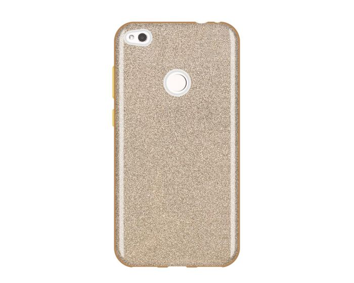 Wozinsky Glitter Shine Cover Hard Case Gold (Huawei P8 Lite 2017 / P9 lite 2017 / Honor 8 Lite)