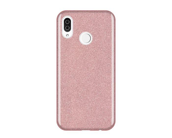Wozinsky Glitter Shine Cover Hard Case Pink (Huawei Y6 2019 / Honor 8A)