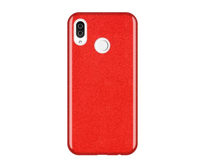 Wozinsky Glitter Shine Cover Hard Case Red (Huawei Y6 2019 / Honor 8A)