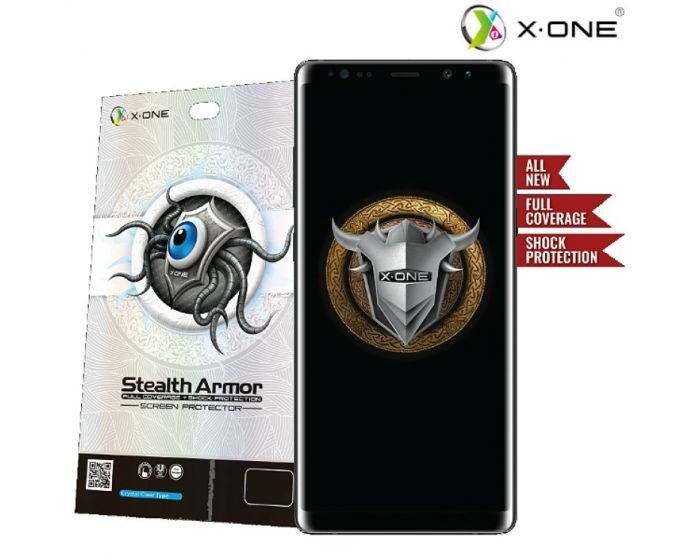 X-One Stealth Armor Shock Full Coverage Screen Protector Μεμβράνη Οθόνης (iPhone Xs Max)
