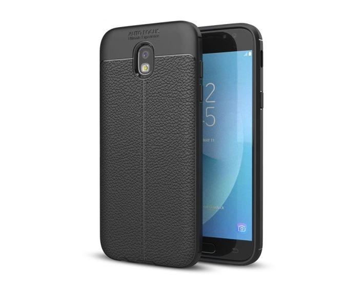 TPU Rugged Armor Football Grain Case Black (Samsung Galaxy J7 2017)