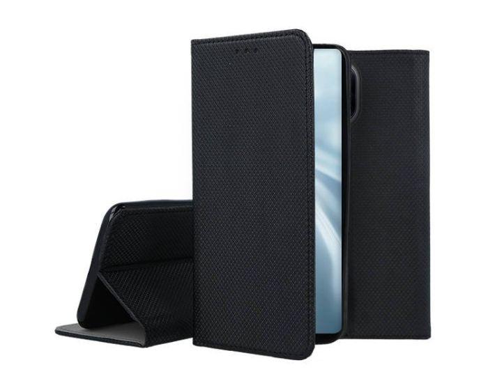Forcell Smart Book Case με Δυνατότητα Stand Θήκη Πορτοφόλι Black (Xiaomi Mi 11)
