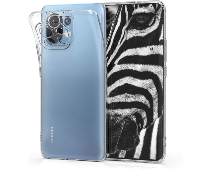 KWmobile TPU Clear Silicone Case Θήκη Σιλικόνης (54191.03) Διάφανη (Xiaomi Mi 11)