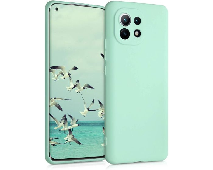 KWmobile TPU Silicone Case (54188.50) Mint Matte (Xiaomi Mi 11)