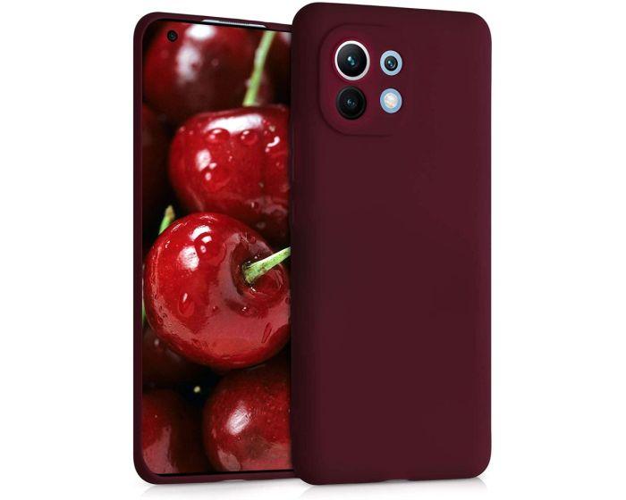 KWmobile TPU Silicone Case (54188.190) Tawny Red (Xiaomi Mi 11)