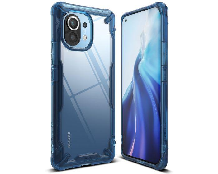 Ringke Fusion-X Σκληρή Θήκη με TPU Bumper Space Blue (Xiaomi Mi 11)