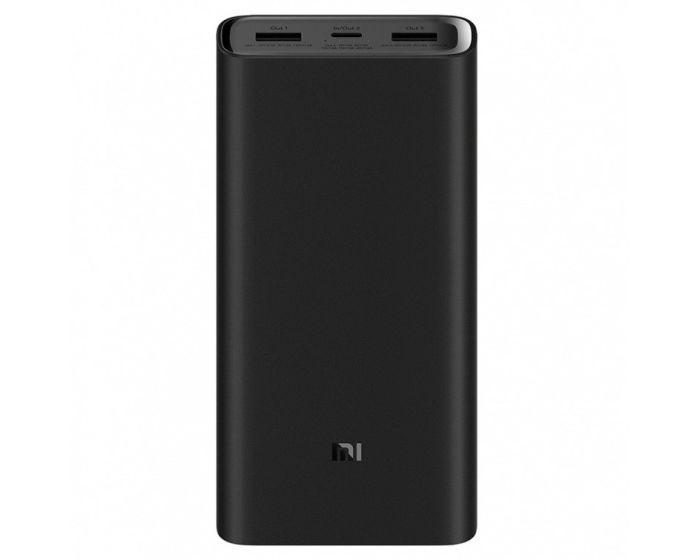Xiaomi Mi 3 Pro Power Bank Fast Charge Εξωτερική Μπαταρία 20000mAh - Black