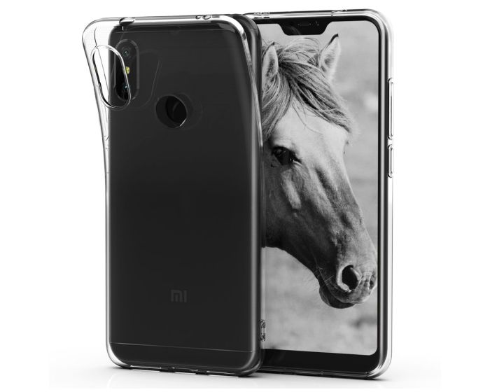 KWmobile TPU Clear Silicone Case Θήκη Σιλικόνης (45616.03) Διάφανη (Xiaomi Mi A2 Lite / Redmi 6 Pro)