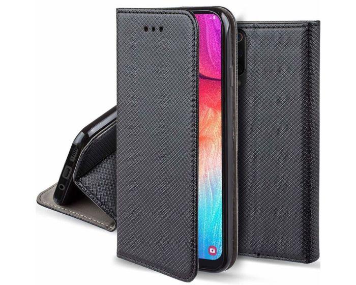 Forcell Smart Book Case με Δυνατότητα Stand Θήκη Πορτοφόλι Black (Xiaomi Mi A3 Lite)