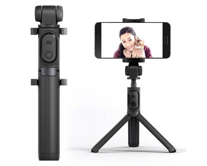 Xiaomi Mi Bluetooth Selfie Stick / Mini Tripod with Remote για Κινητά - Black