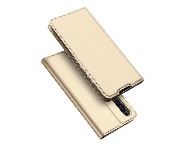 DUX DUCIS SkinPro Wallet Case Θήκη Πορτοφόλι με Stand - Gold (Xiaomi Mi9)