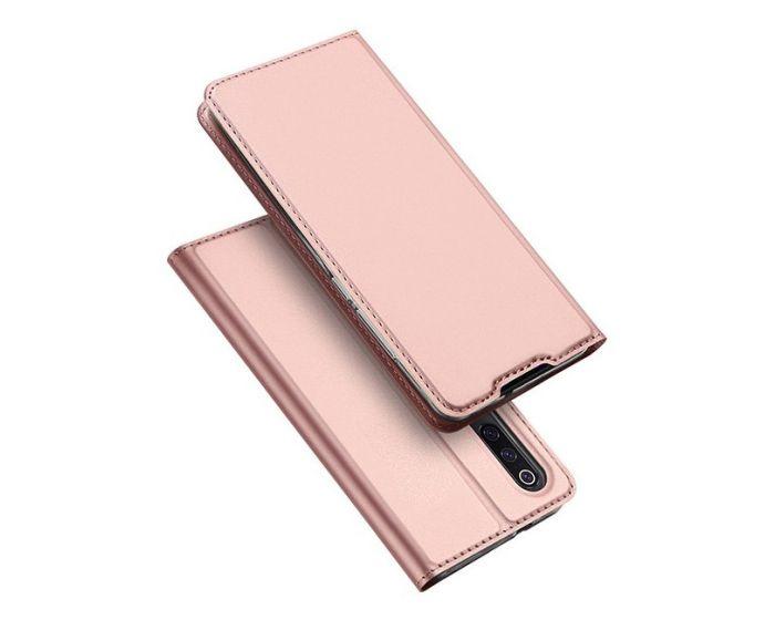 DUX DUCIS SkinPro Wallet Case Θήκη Πορτοφόλι με Stand - Rose Gold (Xiaomi Mi9)