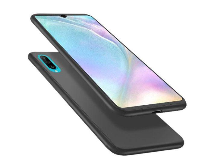 360 Full Cover Case & Tempered Glass - Black (Xiaomi Mi9)