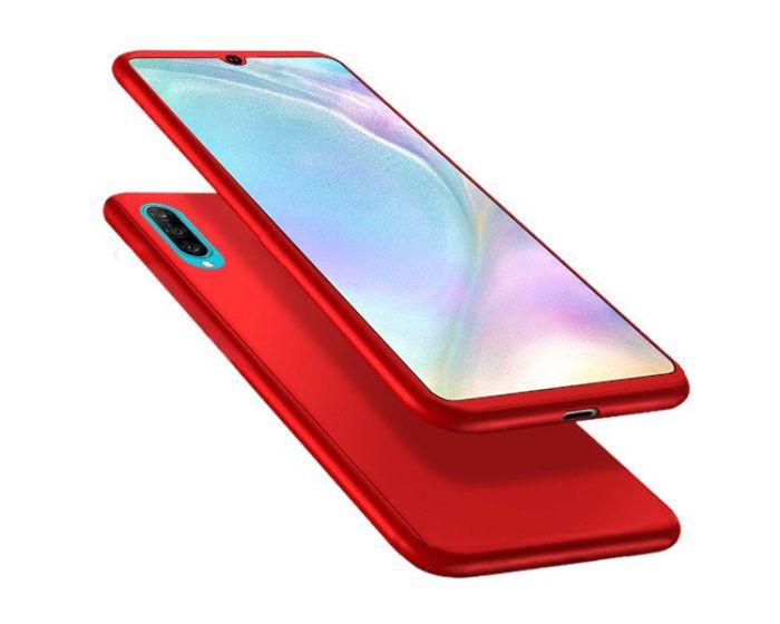 360 Full Cover Case & Tempered Glass - Red (Xiaomi Mi9)