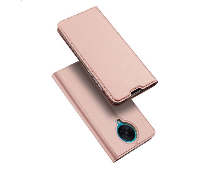 DUX DUCIS SkinPro Wallet Case Θήκη Πορτοφόλι με Stand - Rose Gold (Xiaomi Poco F2 Pro)