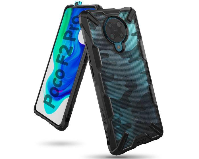 Ringke Fusion-X Σκληρή Θήκη με TPU Bumper Camo (Xiaomi Poco F2 Pro)