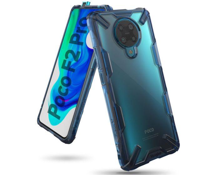 Ringke Fusion-X Σκληρή Θήκη με TPU Bumper Space Blue (Xiaomi Poco F2 Pro)