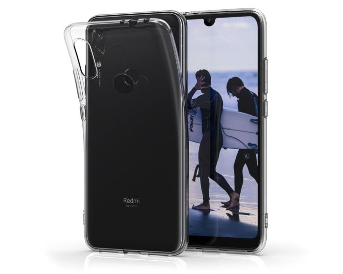 KWmobile TPU Clear Silicone Case Θήκη Σιλικόνης (48648.03) Διάφανη (Xiaomi Redmi 7)