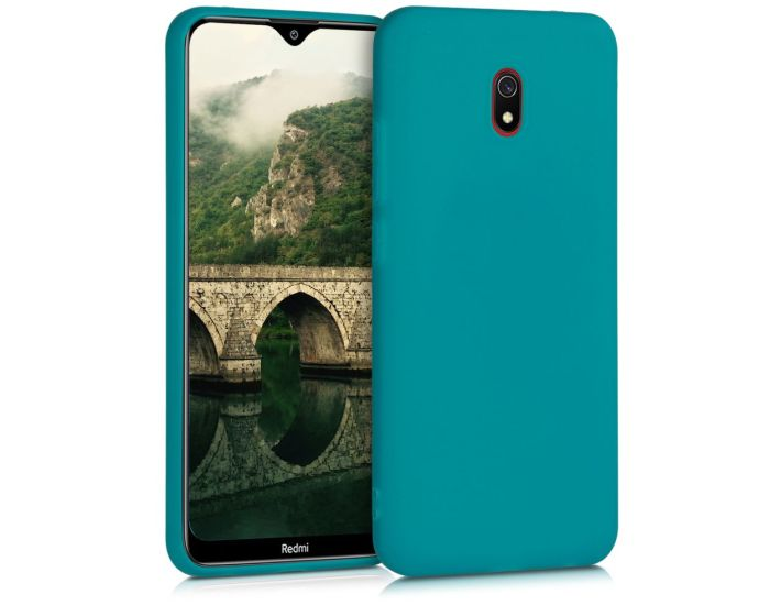 KWmobile TPU Silicone Case (50643.57) Teal Matte (Xiaomi Redmi 8A)