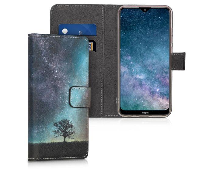 KWmobile Θήκη Πορτοφόλι Wallet Case (50645.02) Cosmic Nature (Xiaomi Redmi 8A)