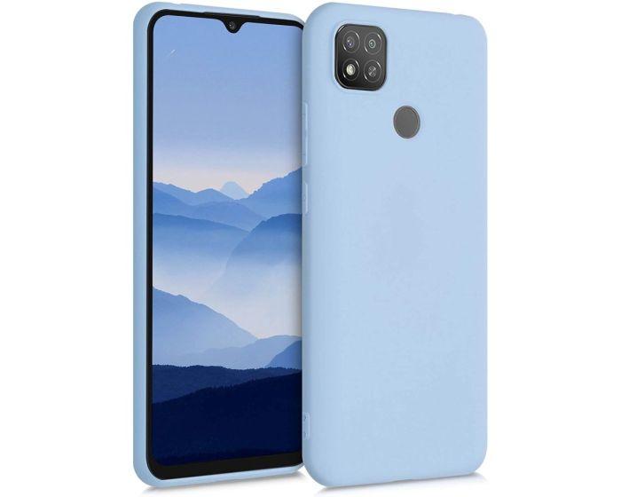 KWmobile TPU Silicone Case (52850.58) Light Blue Matte (Xiaomi Redmi 9C)
