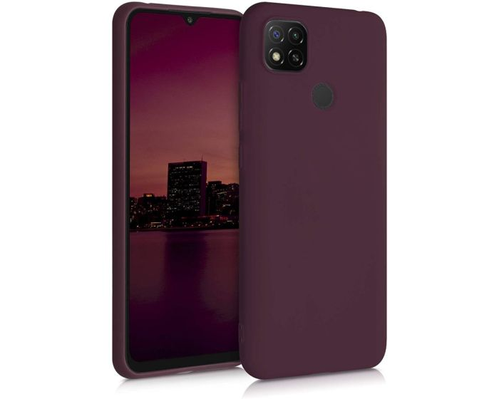 KWmobile TPU Silicone Case (52850.190) Tawny Red (Xiaomi Redmi 9C)