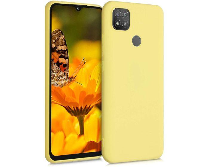 KWmobile TPU Silicone Case (52850.49) Yellow Matte (Xiaomi Redmi 9C)