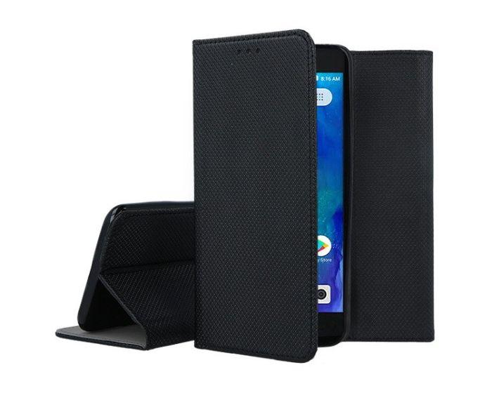 Forcell Smart Book Case με Δυνατότητα Stand Θήκη Πορτοφόλι Black (Xiaomi Redmi Go)
