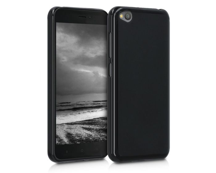 KWmobile TPU Silicone Case (47712.47) Black Matte (Xiaomi Redmi Go)