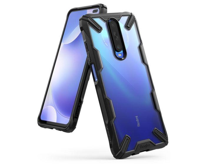 Ringke Fusion-X Σκληρή Θήκη με TPU Bumper Black (Xiaomi Redmi K30)