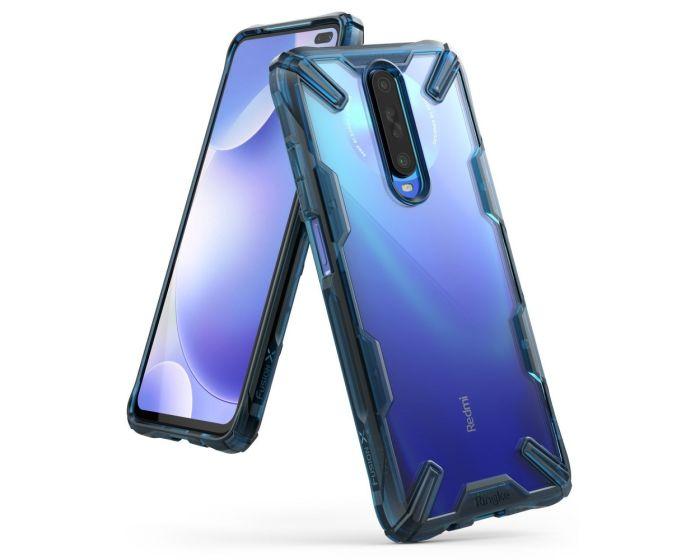 Ringke Fusion-X Σκληρή Θήκη με TPU Bumper Space Blue (Xiaomi Redmi K30)