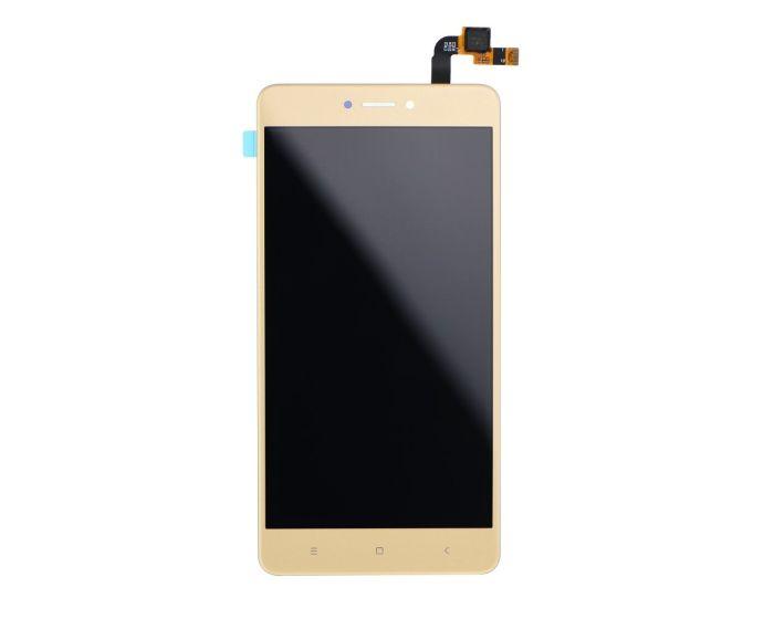 OEM Οθόνη LCD Touch Screen + Digitizer AAA - Gold (Xiaomi Redmi Note 4X)
