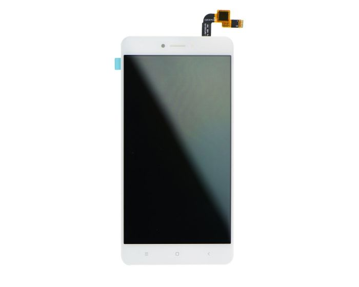 OEM Οθόνη LCD Touch Screen + Digitizer AAA - White (Xiaomi Redmi Note 4X)