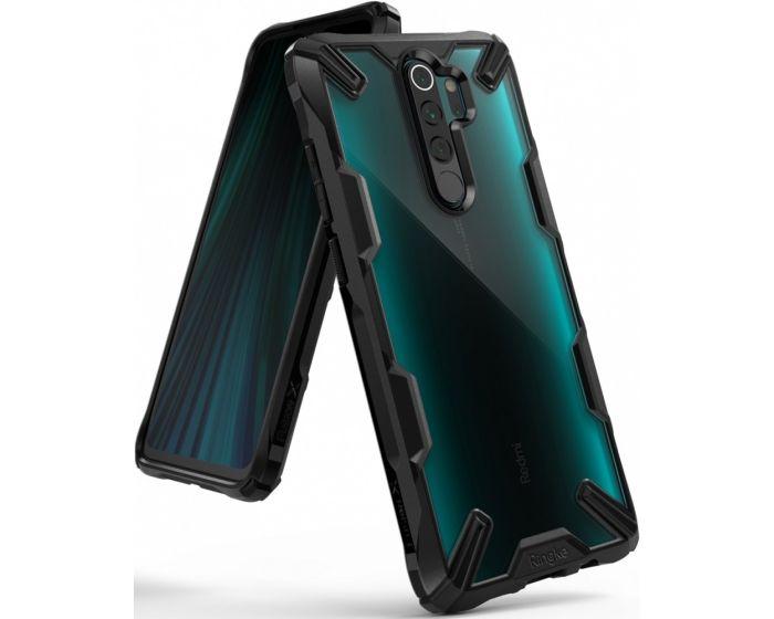 Ringke Fusion-X Σκληρή Θήκη με TPU Bumper Black (Xiaomi Redmi Note 8 Pro)