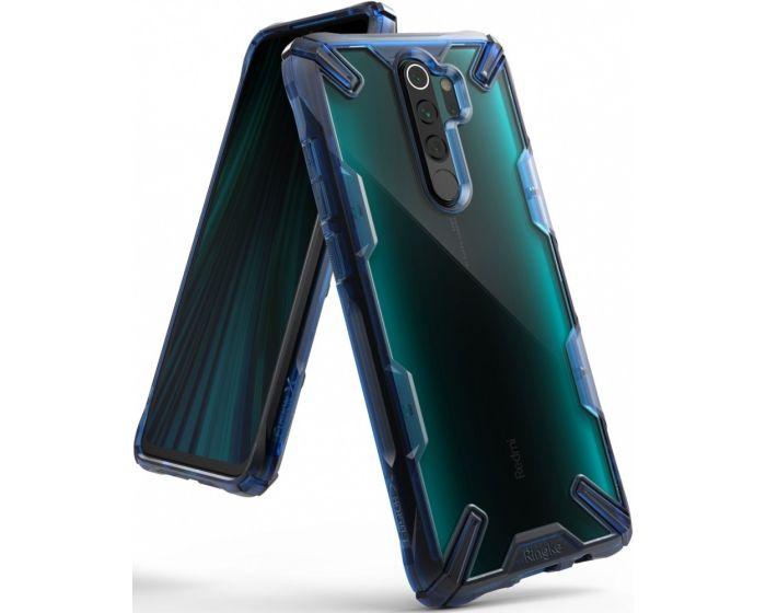 Ringke Fusion-X Σκληρή Θήκη με TPU Bumper Space Blue (Xiaomi Redmi Note 8 Pro)