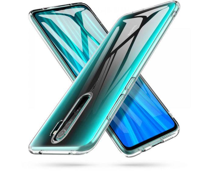 TECH-PROTECT Flexair Crystal Case Θήκη Σιλικόνης Διάφανο (Xiaomi Redmi Note 8 Pro)