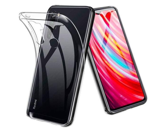 Ultra Slim 0.5mm Silicone Case Θήκη Σιλικόνης Διάφανο (Xiaomi Redmi Note 8T)