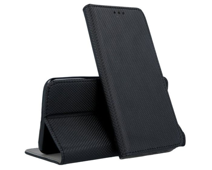 Forcell Smart Book Case με Δυνατότητα Stand Θήκη Πορτοφόλι Black (Sony Xperia L3)