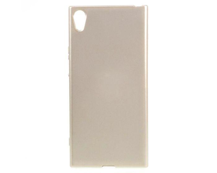 Forcell Jelly Flash Slim Fit Case Θήκη Gel Gold (Sony Xperia XA1)