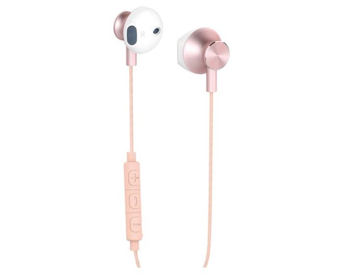 Yenkee Handsfree YHP 305PK Ακουστικά με Ενσωματωμένο Μικρόφωνο - Pink