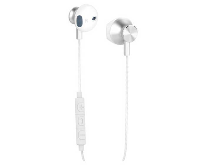 Yenkee Handsfree YHP 305WE Ακουστικά με Ενσωματωμένο Μικρόφωνο - White