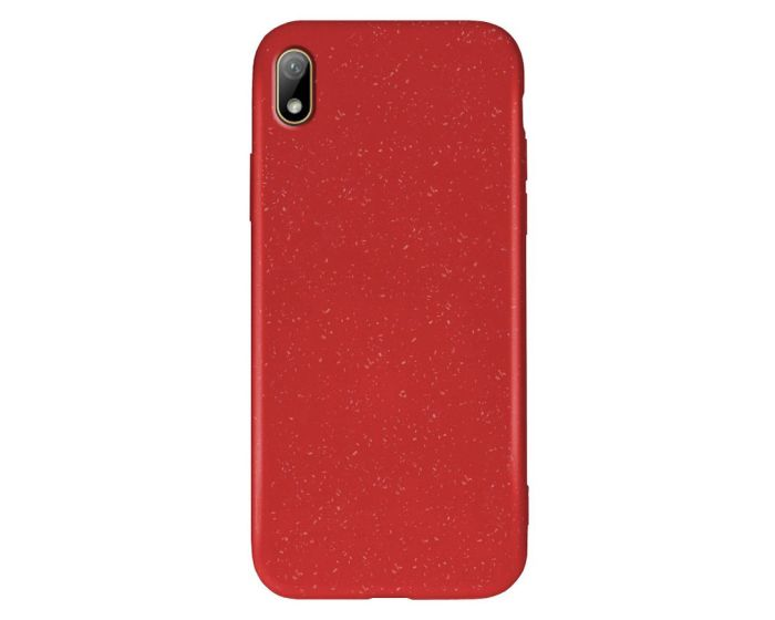 Forcell Zero Waste Bio Case Οικολογική Θήκη Red (Huawei Y5 2019)