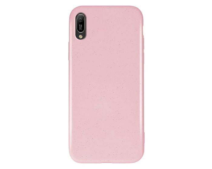 Forever Zero Waste Bioio Case Οικολογική Θήκη Pink (Huawei Y6 2019)