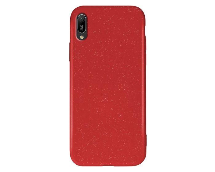 Forcell Zero Waste Bio Case Οικολογική Θήκη Red (Huawei Y6 2019)
