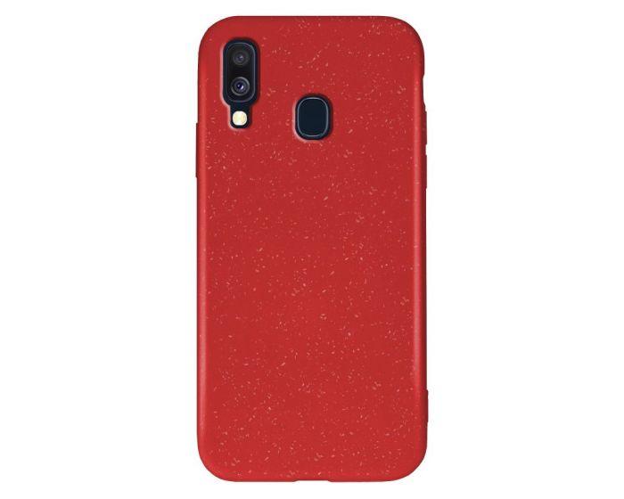Forcell Zero Waste Bio Case Οικολογική Θήκη Red (Samsung Galaxy A20e)
